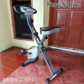 Sepeda fitnes tipe xbike sepeda lipat magnetik bike