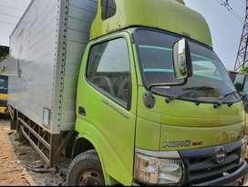 Hino Dutro 130MDLong 2011 box alum Jumbo 5.5m/Mitsubishi Colt diesel