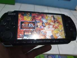 PSP SLIM 3000 Black Normal Lengkap