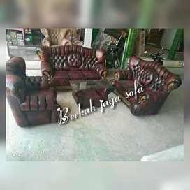 Sofa raja kancing oscar