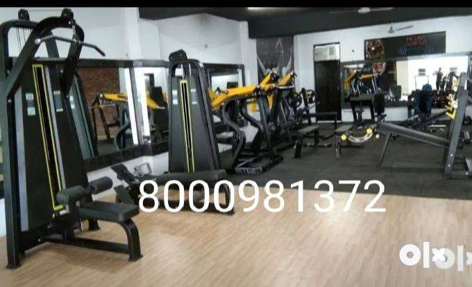 Gym Equipment set ( Approx- 3 to5 Lakhs 5 LAKHS PACKAGE AB COASTER FRE 0