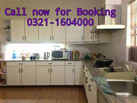 Kanal full furnished house for rent on daily/weekly basis