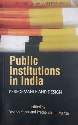 Public institutions of india by pratap bhanu mehta