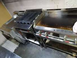 Frayer, Grill, Hot Plate, Burner, BBQ Counter, Display & Service Contr