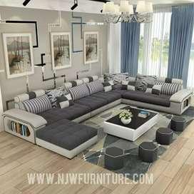 Sofa U modern madagascar maxy