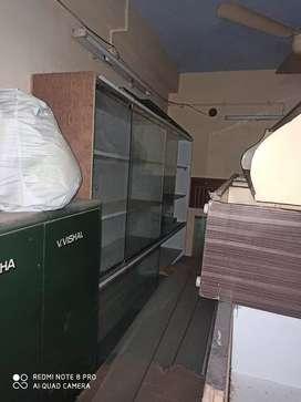 Sliding glass door cupboard