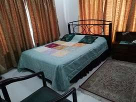 E11 1 bed  ground protion fully furnished for rent