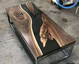 Table top with iron stand
