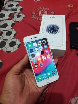 Apple iphone 6 32gb mulus resmi ibox tt barter vivo oppo samsung a50