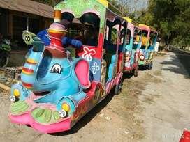 usaha mainan anak keliling odong kereta motor Gajah ADD