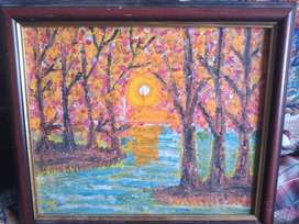Hand made paintings by child