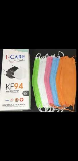 PROMO Masker KF94 KOREA lengkap warna