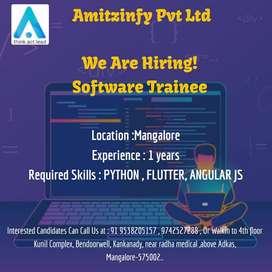 Urgently required software developer