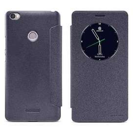 AyooDropship - Nillkin Sparkle Window Case for Xiaomi Mi Max - Black