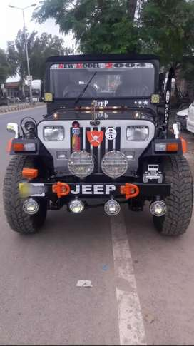 The sports jeep modified