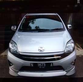Bismillahirrahmanirrahim, dijual Toyota Agya TRD 2014...