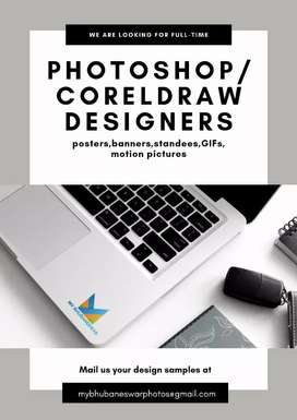 PHOTOSHOP & COREL DRAW EXPERT DESIGNER