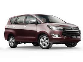 Brand new car Innova crysta in lowest downpyment