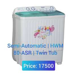 Haier washing machines free home delivery with 2 year parts warranty