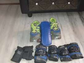 Skates with shoes