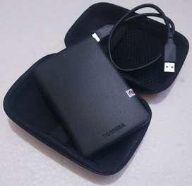 Hardisk External Toshiba 500Gb,  HDD Eksternal Harddisk Hard Disk