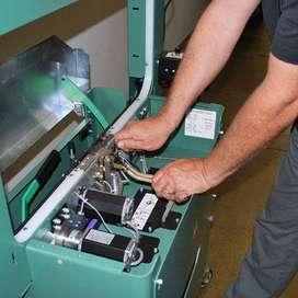paper plate machine repairing