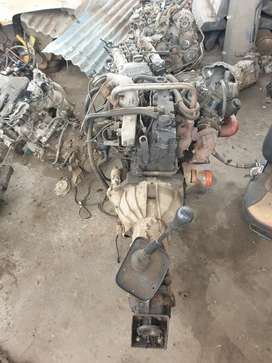 Scorpio 2.6 engine with gearbox suit for jeep and other suv