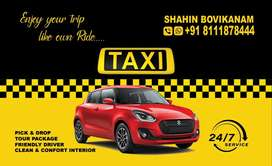 Taxi available @ kasargod