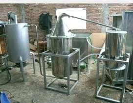 Mesin destilasi / penyulingan minyak