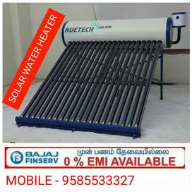 Solar for water heater
