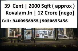 39 Cent | 2000 Sqft old building | Kovalam Main Road