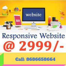 5 Pages Website at 3499 only