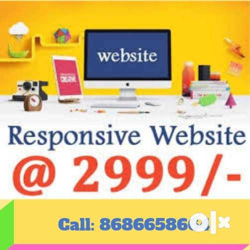 5 Pages Website at 2999 only 0
