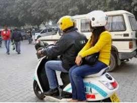 Ola bike taxi job (part time full time)