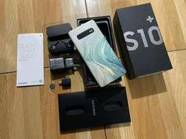 # Samsung Galaxy S10+ Prism Black - 8/128GB - Fullset