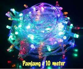 Lampu Tumbrl 10 Meter Bisa Di Sambung