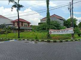 Jual Tanah Babatan Pratama Wiyung Surabaya Murah Hadap Utara Barat