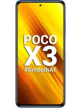 Poco X3 4 month mobile sale