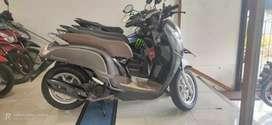 +Honda Scoopy abu-abu 2017 jual seadanya