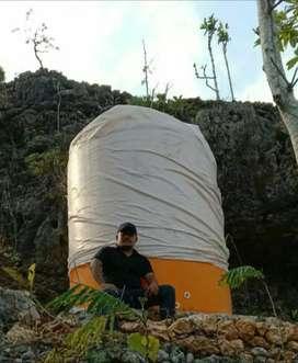 Tandon air 5300 liter tebal sni garansi bocor toren