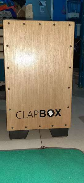 Cajon mini drume instument acosting sound, With Bag Free