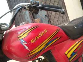 Eagle bike 70cc 2014 model with good condition