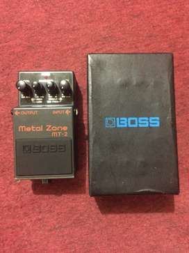 Boss Metalzone MT-2