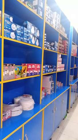 Running Electric store business for sale