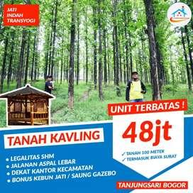 Dijual kavling Viral lokasi strategis di Bogor