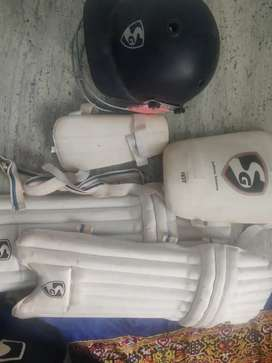 Cricket kit with full equipment