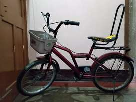 Brand:-Hero,age group:-6 to 12 years,type:-Normal non-geared cycle.