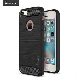 Case Hardcase Softcase Ipaky Carbon Iphone 5 / 5S / 5Se