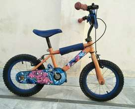 Imported spider man bicycle 14 inch