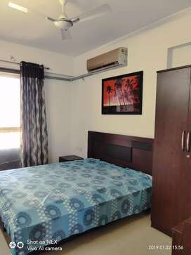 Only for family 2bhk flat fully furnished in covered campus